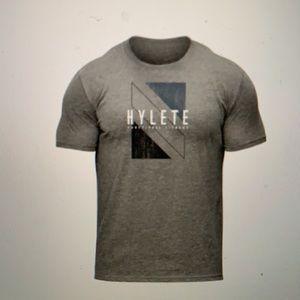 Men's Hylete tri-blend crew tee